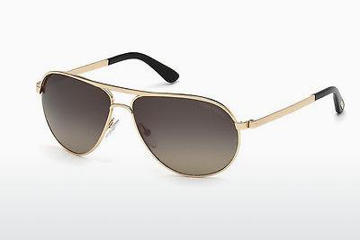 Lunettes de soleil Tom Ford Marko (FT0144 28D) - Or