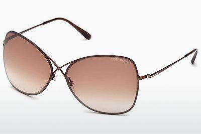 Occhiali da vista Tom Ford Colette (FT0250 48F) - Marrone, Dark, Shiny