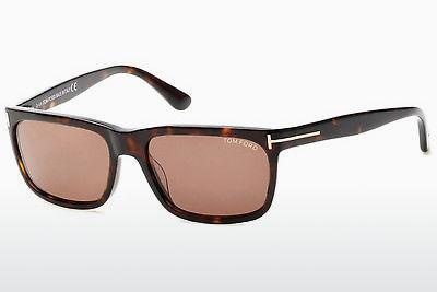 Lunettes de soleil Tom Ford Hugh (FT0337 56J) - Brunes, Havanna