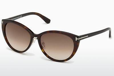 Sonnenbrille Tom Ford Gina (FT0345 52F) - Braun, Dark, Havana