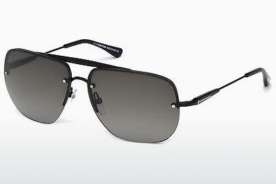 Sonnenbrille Tom Ford Nils (FT0380 02B) - Schwarz, Matt