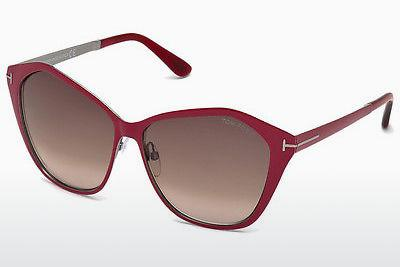 Occhiali da vista Tom Ford Lena (FT0391 69Z) - Borgogna, Bordeaux, Shiny