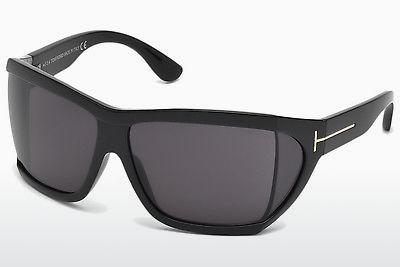 Sonnenbrille Tom Ford Sedgewick (FT0402 01A) - Schwarz, Shiny