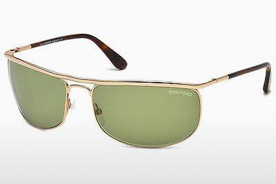 Lunettes de soleil Tom Ford Ryder (FT0418 28N) - Or