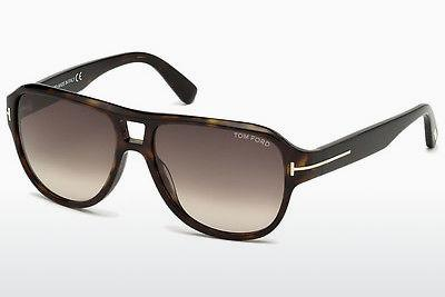Sonnenbrille Tom Ford Dylan (FT0446 52K) - Braun, Dark, Havana