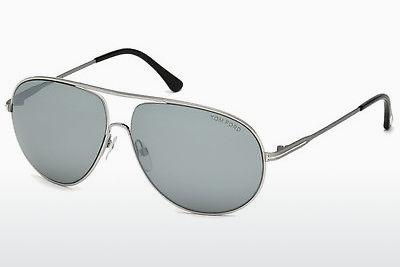 Sonnenbrille Tom Ford Cliff (FT0450 14C) - Grau, Shiny, Bright