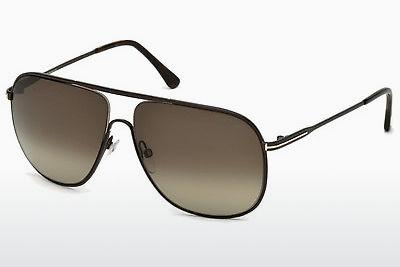 Sonnenbrille Tom Ford Dominic (FT0451 49K) - Braun, Dark, Matt