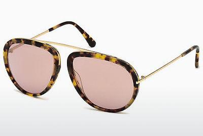 Sonnenbrille Tom Ford Stacy (FT0452 53Z) - Havanna, Yellow, Blond, Brown