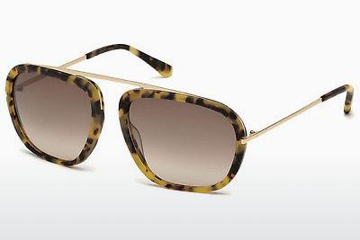 Sonnenbrille Tom Ford Johnson (FT0453 53F) - Havanna, Yellow, Blond, Brown