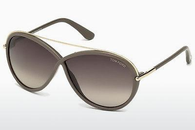 Occhiali da vista Tom Ford Tamara (FT0454 59K) - Corno, Beige, Brown