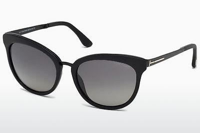 Sonnenbrille Tom Ford Emma (FT0461 02D) - Schwarz, Matt