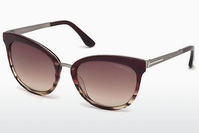 Sonnenbrille Tom Ford FT0461 71F - Burgund, Bordeaux