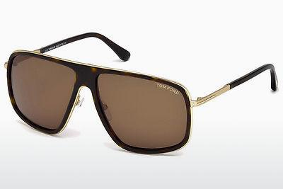 Occhiali da vista Tom Ford Quentin (FT0463 52K) - Marrone, Havana