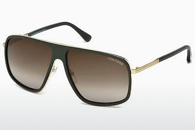 Sonnenbrille Tom Ford FT0463 98K - Grün, Dark