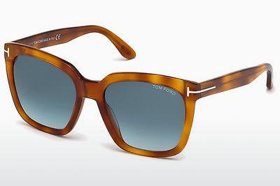 Sonnenbrille Tom Ford Amarra (FT0502 53W) - Havanna, Yellow, Blond, Brown