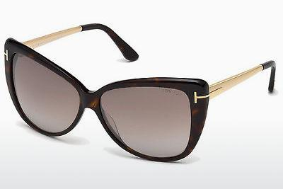 Sonnenbrille Tom Ford Reveka (FT0512 52G) - Braun, Dark, Havana