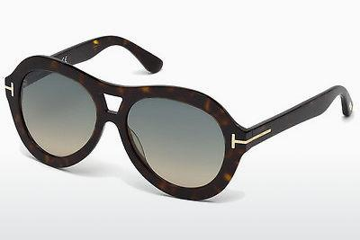 Sonnenbrille Tom Ford Isla (FT0514 52W) - Braun, Dark, Havana