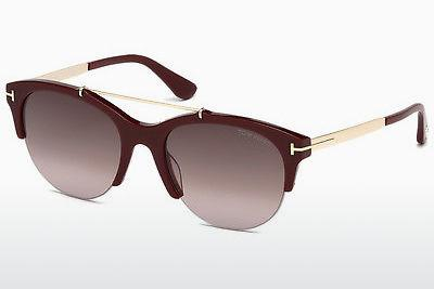 Occhiali da vista Tom Ford Adrenne (FT0517 69T) - Borgogna, Bordeaux, Shiny