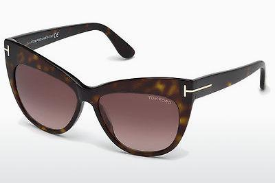 Sonnenbrille Tom Ford Nika (FT0523 52F) - Braun, Dark, Havana