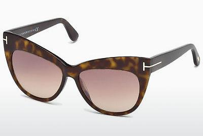 Sonnenbrille Tom Ford Nika (FT0523 52G) - Braun, Dark, Havana