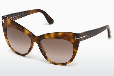 Sonnenbrille Tom Ford Nika (FT0523 53F) - Havanna, Yellow, Blond, Brown
