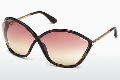 Sonnenbrille Tom Ford Bella (FT0529 52Z) - Braun, Dark, Havana