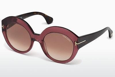 Sonnenbrille Tom Ford Rachel (FT0533 71F) - Burgund, Bordeaux