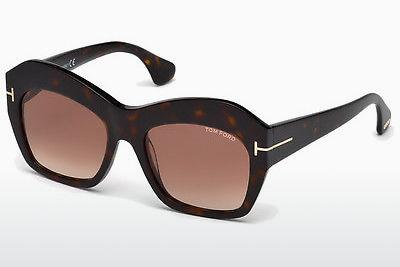 Occhiali da vista Tom Ford Emmanuelle (FT0534 52F) - Marrone, Dark, Havana