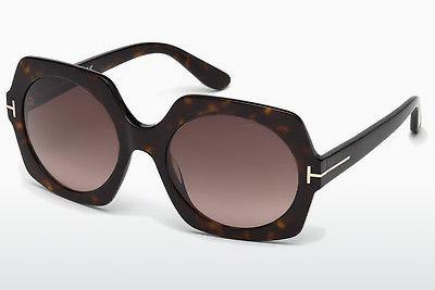 Sonnenbrille Tom Ford Sofia (FT0535 52T) - Braun, Dark, Havana