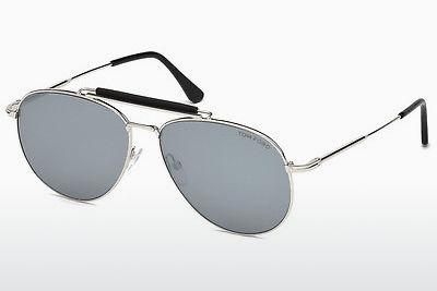 Sonnenbrille Tom Ford Sean (FT0536 16C) - Silber, Shiny, Grey