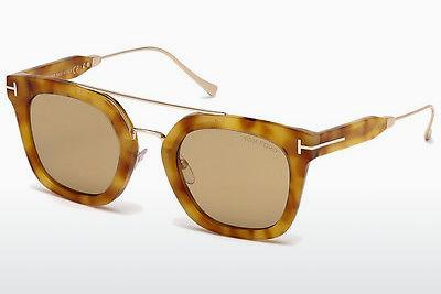 Sonnenbrille Tom Ford Alex (FT0541 53E) - Havanna, Yellow, Blond, Brown