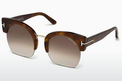 Sonnenbrille Tom Ford Savannah (FT0552 53F) - Havanna, Yellow, Blond, Brown