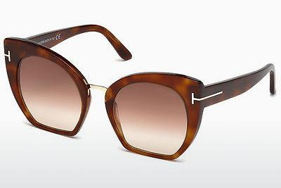 Sonnenbrille Tom Ford Samantha (FT0553 53F) - Havanna, Yellow, Blond, Brown