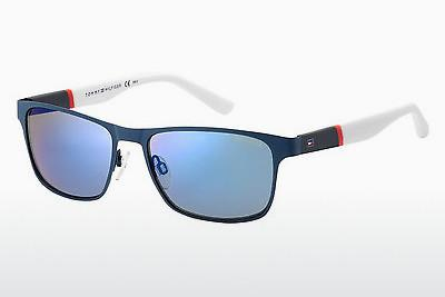 Sonnenbrille Tommy Hilfiger TH 1283/S FO4/23 - Blau
