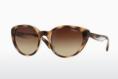 Sonnenbrille Vogue VO2963S 191613 - Transparent, Braun, Havanna