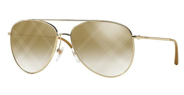 Burberry BE3072 1017B3 LIGHT BROWN MIRROR BRONZEGOLD