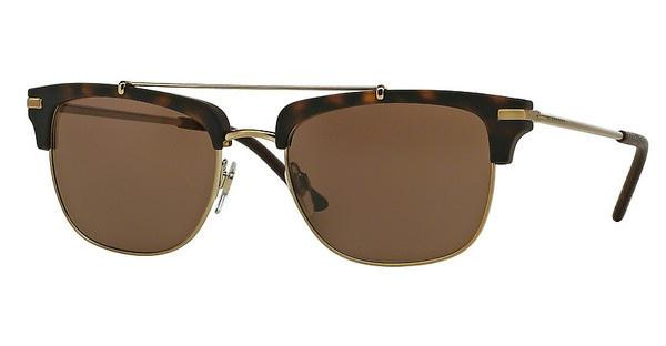 Burberry BE4202Q 35385W DARK BROWNBRUSHED LIGHT GOLD