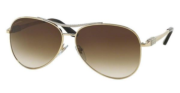 Bvlgari BV6075 200413 BROWN GRADIENTPALE GOLD/SILVER