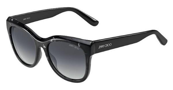 Jimmy Choo NURIA/S W00/HD GREY SFBK SPTTD (GREY SF)