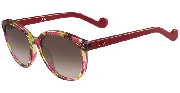 Liu Jo LJ642S 616 RED GREEN CAMOUFLAGE