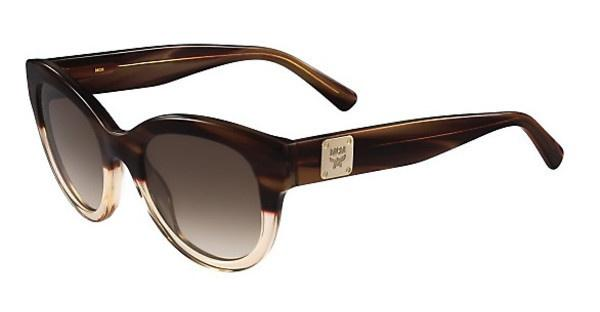 MCM MCM608S 283 STRIPED BROWN/CHAMPAGNE