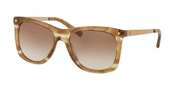 MICHAEL KORS Michael Kors Damen Sonnenbrille »LEX MK2046«, braun, 310613 - braun/braun