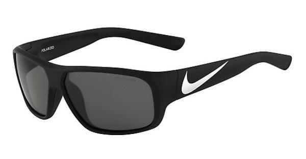 Nike NIKE MERCURIAL 6.0 P EV0779 017 MATTE BLACK/METALLIC SILVER WITH POLARIZED GREY LENS Polarized LENS