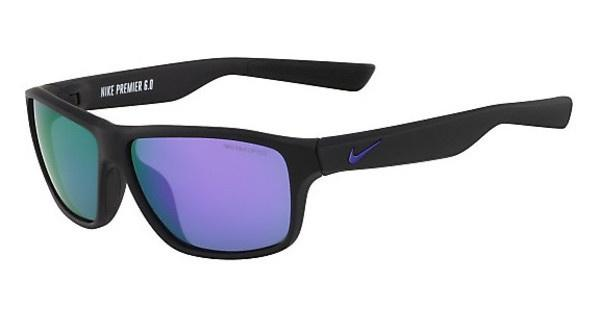 Nike NIKE PREMIER 6.0 R EV0791 056 MATTE BLACK/ELECTRIC PURPLE WITH GREY W/ML VIOLET FLASH LENS