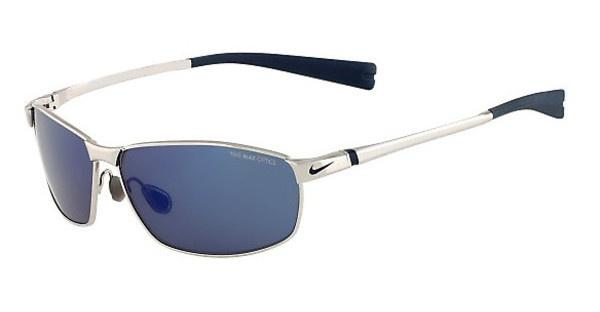 Nike NIKE TOUR EV0744 044 CHROME/SQUADRON BLUE WITH GREY W/BLUE SKY FLASH LENS