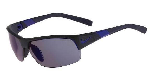 Nike SHOW X2 R EV0822 440 MATTE OBSIDIAN/GAME ROYAL/SHATTER WITH GREY W/ BLUE NIGHT FLASH /GREY LENS