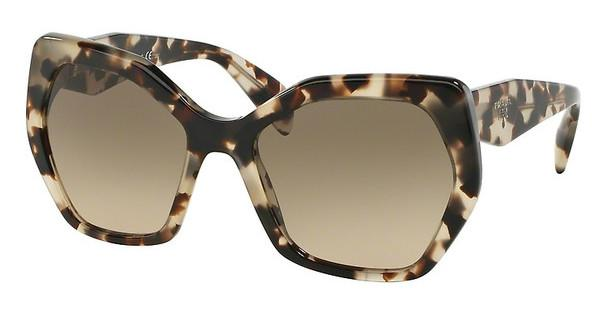 Prada PR 16RS UAO3D0 LIGHT BROWN GRAD LIGHT GREYSPOTTED OPAL BROWN