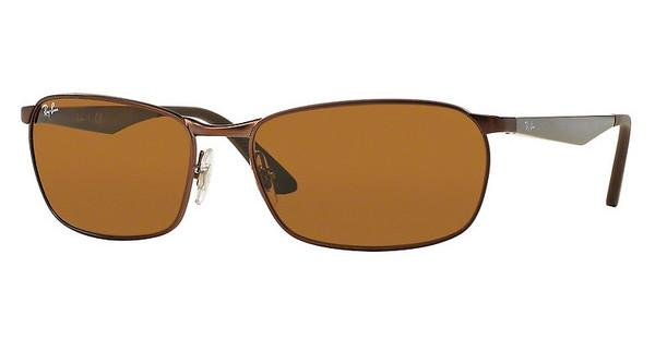 Ray-Ban RB3534 012 BROWNMATTE BROWN