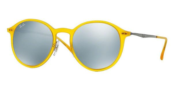 Ray-Ban RB4224 618630 GREEN MIRROR SILVERMATTE OPAL YELLOW