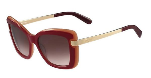 Salvatore Ferragamo SF814S 631 RED-CORAL